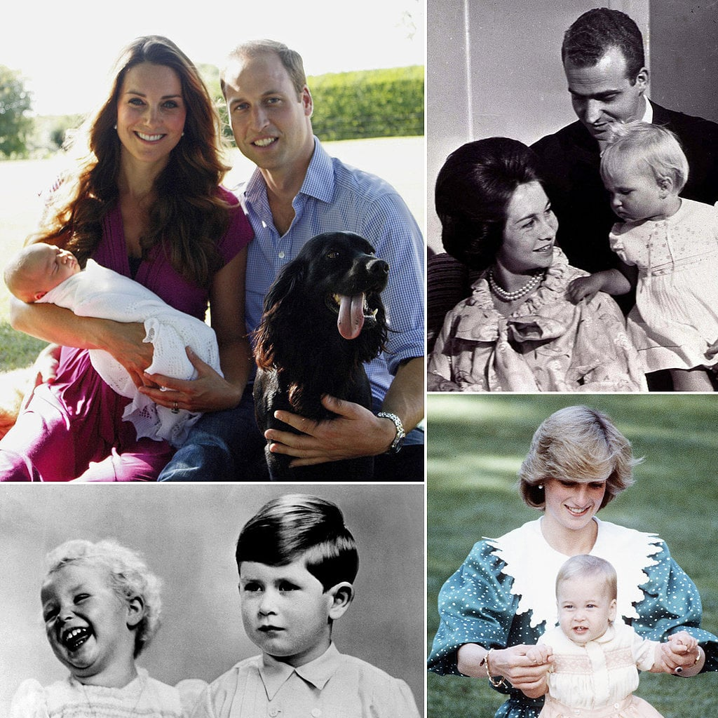 Pictures of Royal Babies