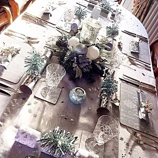 Alternative Christmas Table Decor