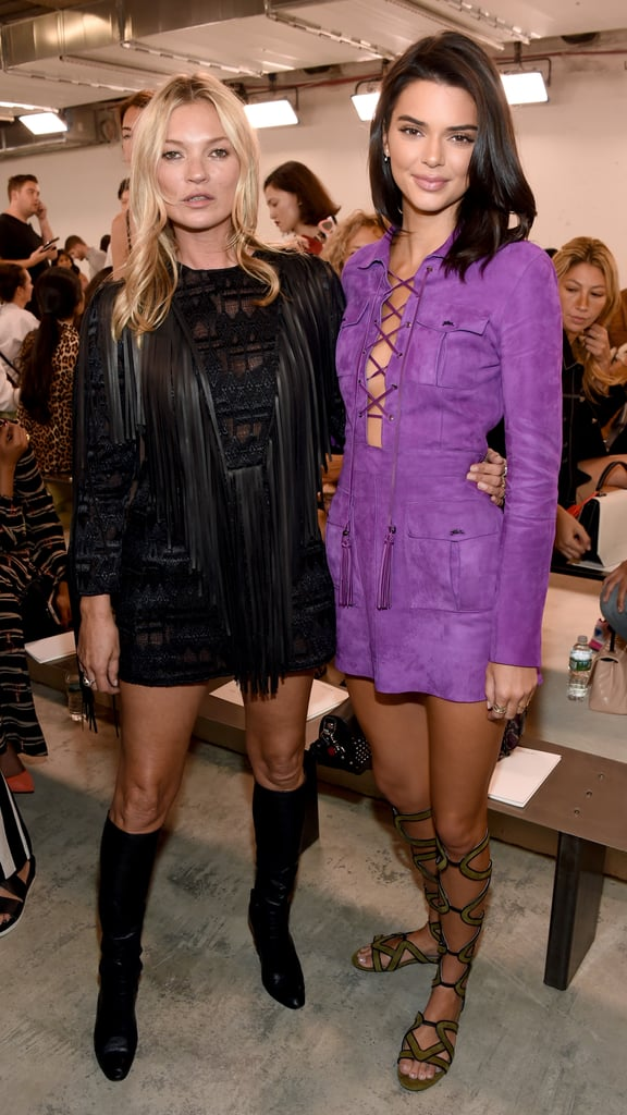 Pictured: Kate Moss and Kendall Jenner