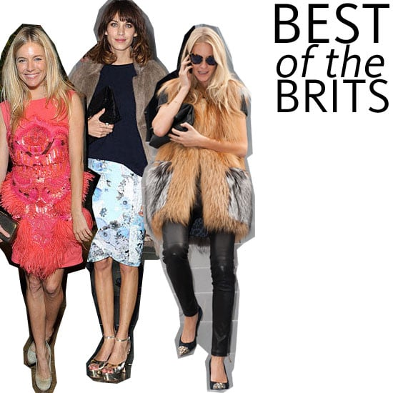 Snoop Our Top Ten Best Dressed British Style Icons List: The Kates, Alexa, Rosie Who Call London-town Home