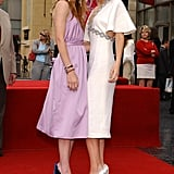 Mary-Kate and Ashley Olsen in April 2004