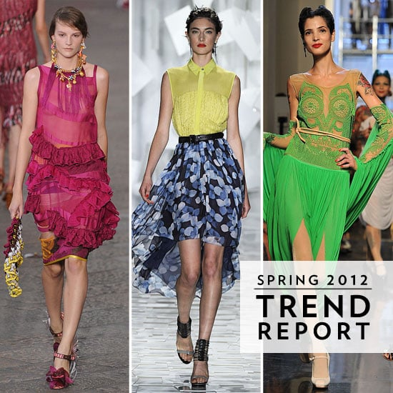 Our Biggest, Brightest Colour Breakdown Ever: The Top International Colour Trends For Spring 2012