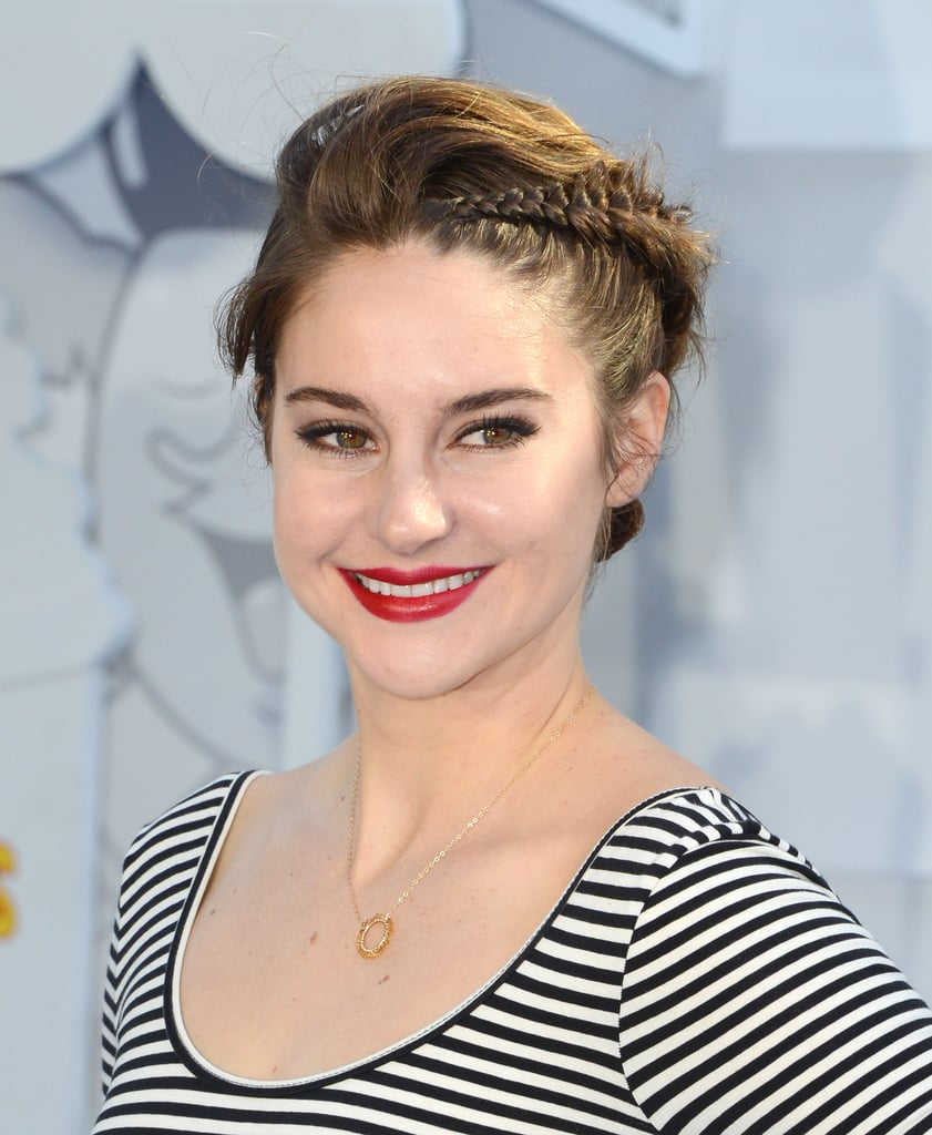 shailene woodley styling ideen f r bobs und kurze haare. Black Bedroom Furniture Sets. Home Design Ideas