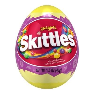 Skittles Filled Easter Egg
