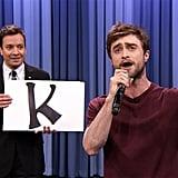 "Daniel Radcliffe's ""Alphabet Aerobics"" Rap"
