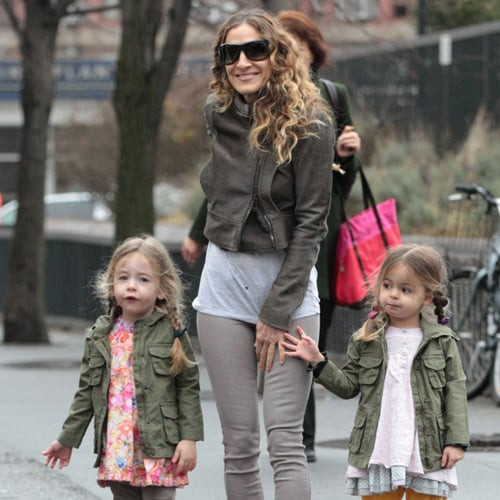 Sarah Jessica Parker and Matthew Broderick With Kids