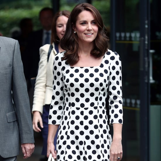 Kate Middleton Dolce and Gabanna Dress at Wimbledon 2017