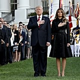 Melania Trump Wears Michael Kors at the 9/11 Memorial