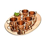 Copper Moscow Mule and Platter Set