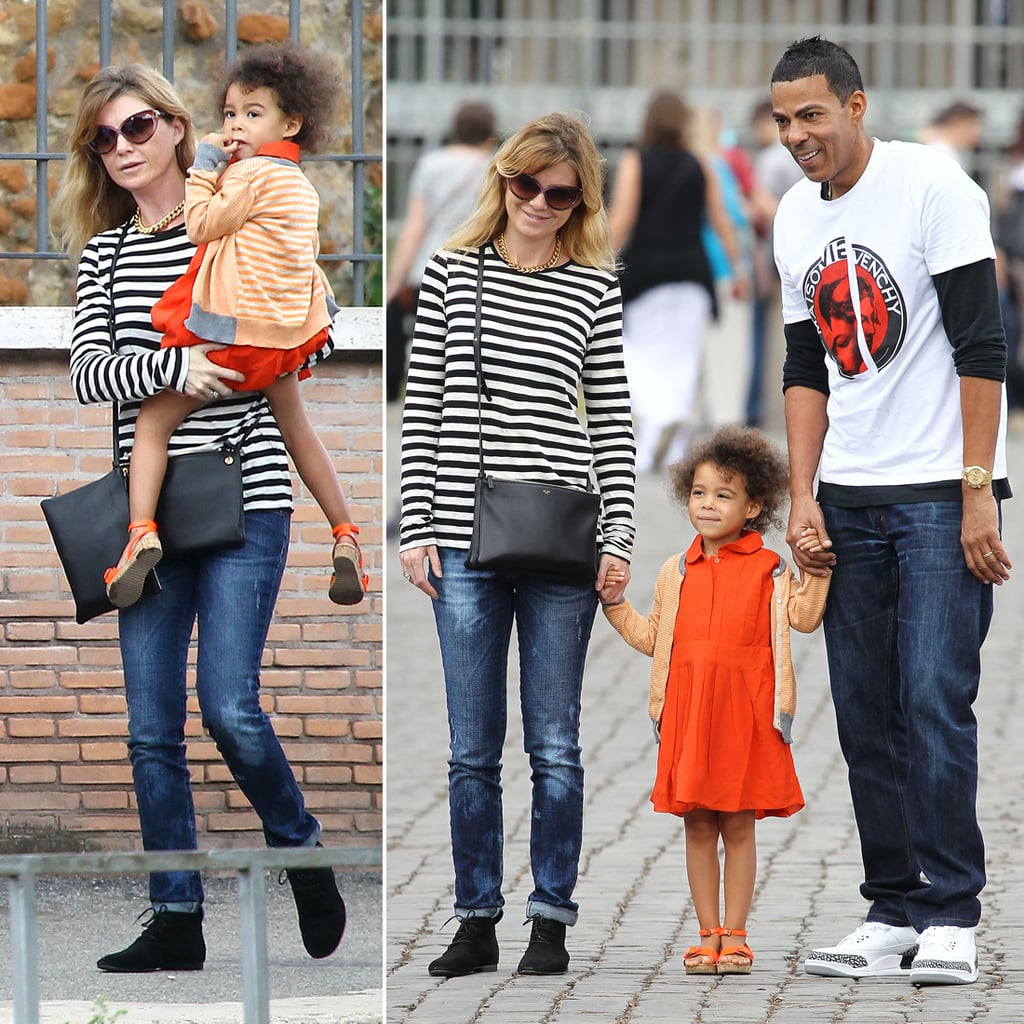 Ellen Pompeo Husband Ellen Pompeo On A Family Vacation In Rome Pictures Popsugar