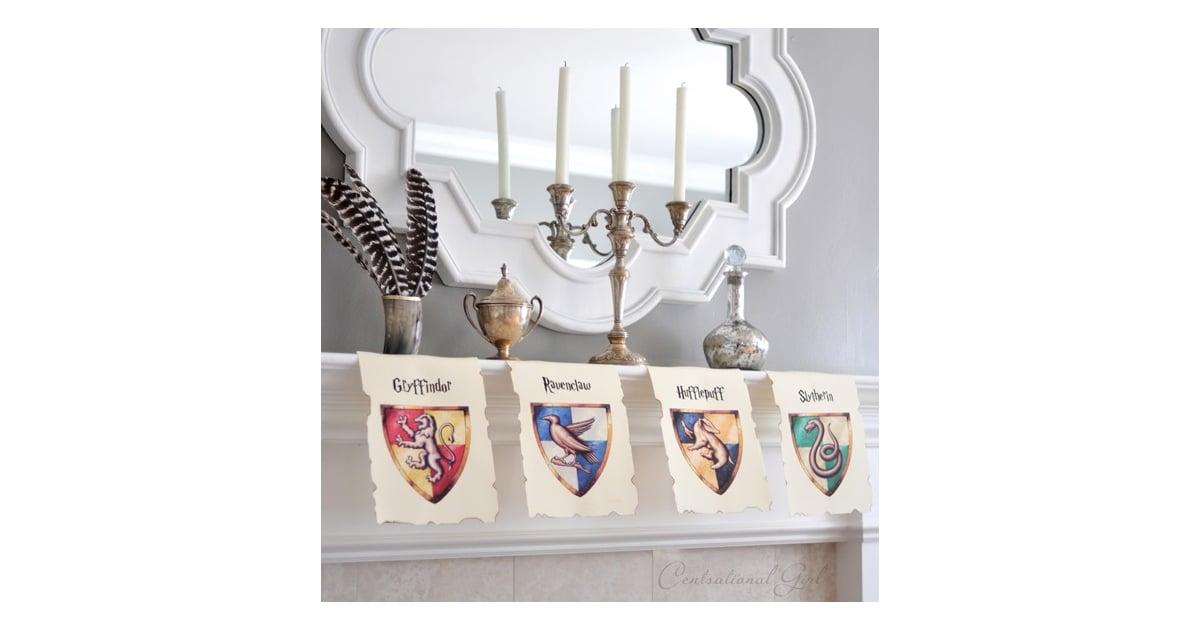 Hang Hogwarts House Banners | Harry Potter DIYs | POPSUGAR Smart Living  Photo 22
