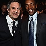 Pictured: Mark Ruffalo and Anthony Mackie