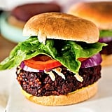 Black Bean and Beet Veggie Burger