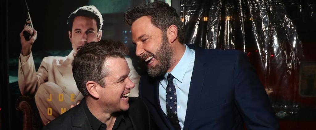 Ben Affleck and Matt Damon Movie About McDonald's Monopoly