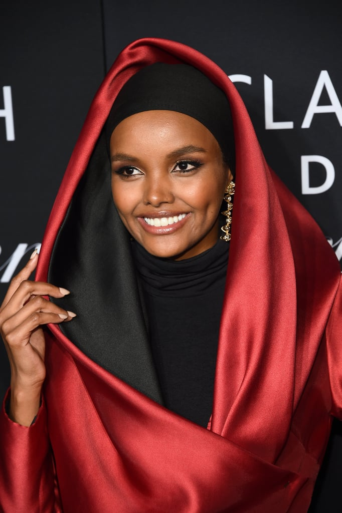 Halima Aden at the Harper's Bazaar ICONS Party