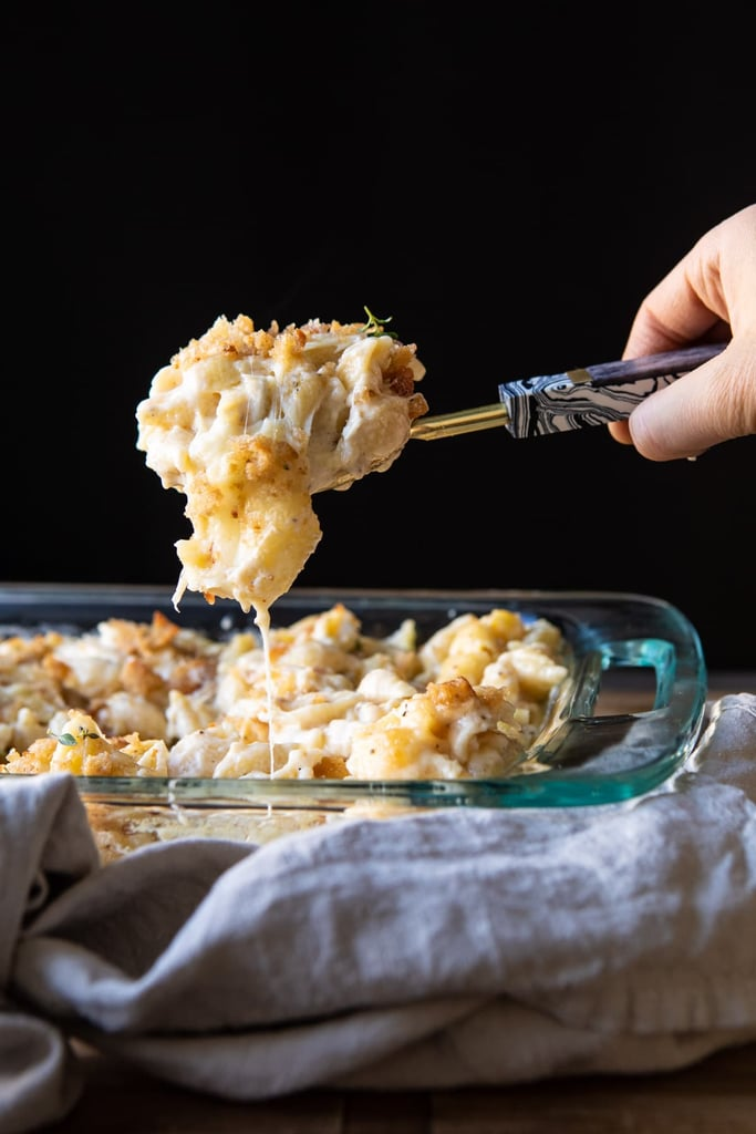 Baked Brie Mac and Cheese
