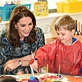 She Did Arts and Crafts With Kids at London's Reach Academy