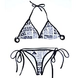 J-S Bikini Newspaper Bikini