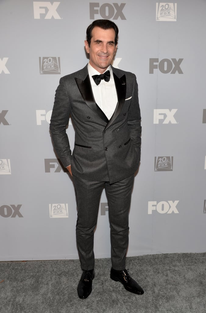 Ty Burrell attended Fox's Emmys after party in LA.