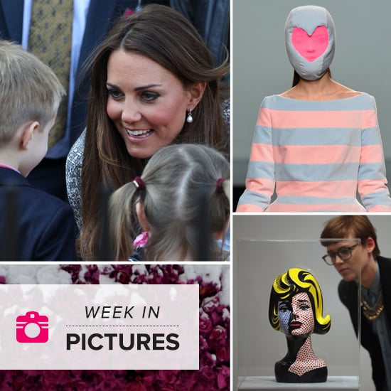 Kate Middleton Speaking to Children   Pictures