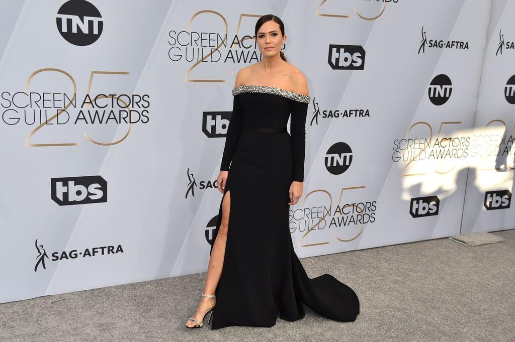 Mandy Moore's Dress at the SAG Awards 2019