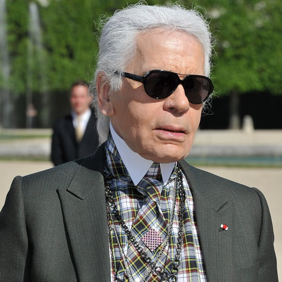 Karl Lagerfeld Auctions Film Role at amfAR Gala in Cannes