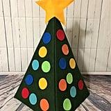 Busy Kid Activities 3D Felt Christmas Tree