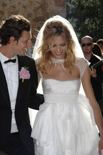 Anja Rubik and Sasha Knezevic's wedding picture