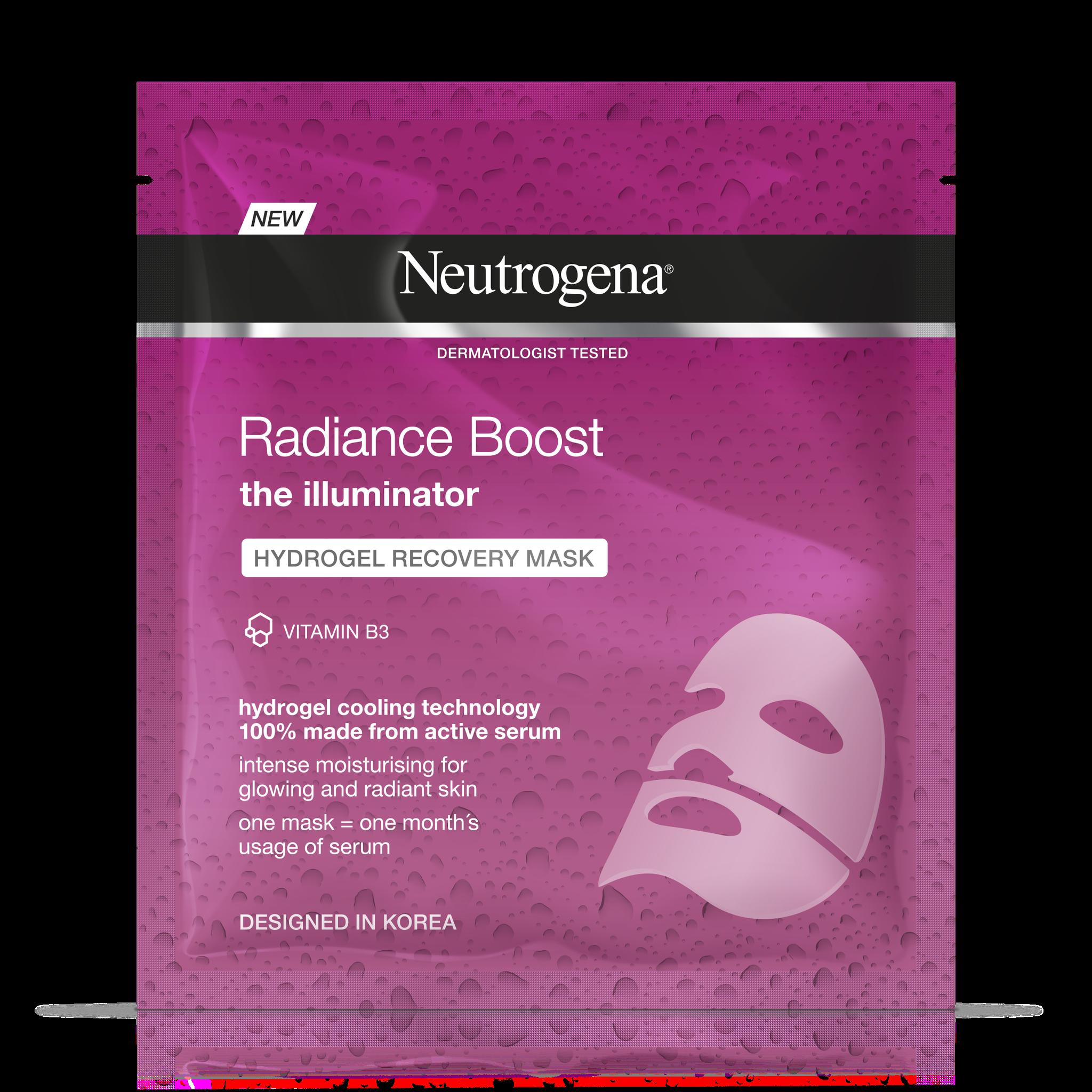 Neutrogena Radiance Boost Hydrogel Mask Review | POPSUGAR Beauty UK