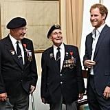 Prince Harry at Veterans Reception June 2016