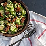Brussels Sprouts, Blueberry & Bacon Salad