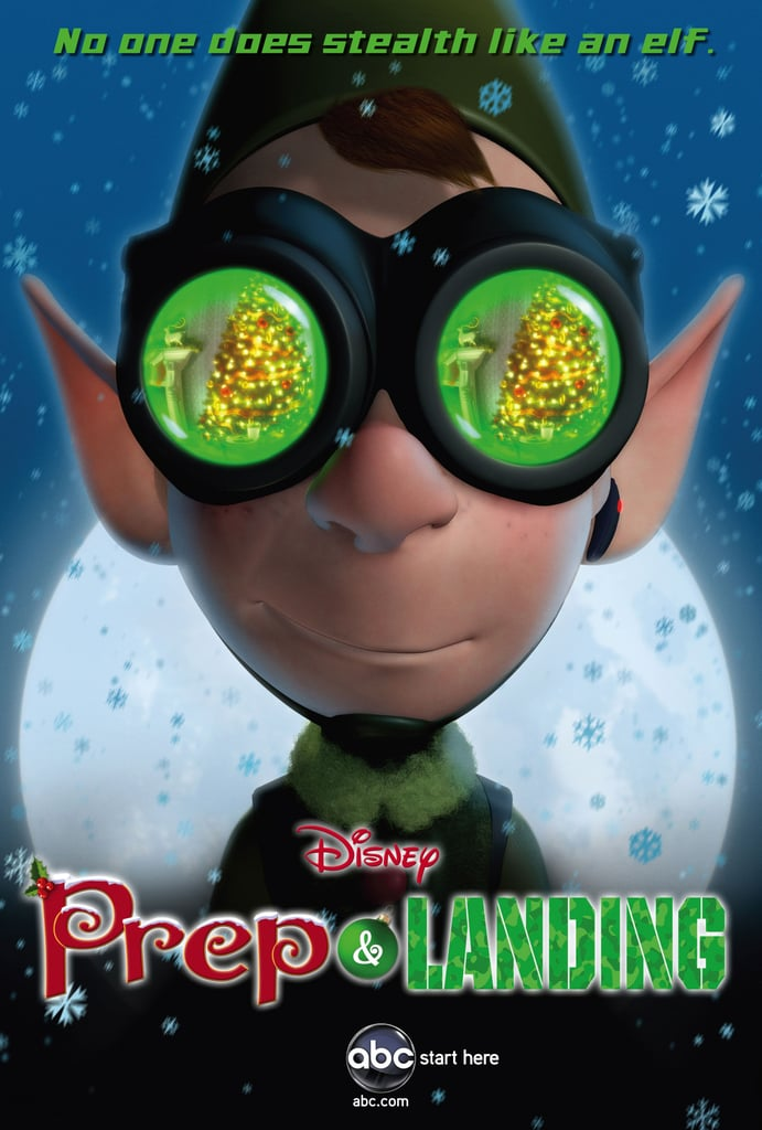 Prep & Landing, age 4+, Dec. 17, 8 p.m., ABC;  Prep and Landing: Naughty vs. Nice, 8:30 p.m. An elite organization of elves makes sure each and every home is ready for Santa. It's serious business for Wayne, who after 227 years is ready for a promotion in this flight-themed buddy comedy. Sequel Naughty vs. Nice finds Wayne and his crew dealing with a hacker trying to program their way onto the nice list.