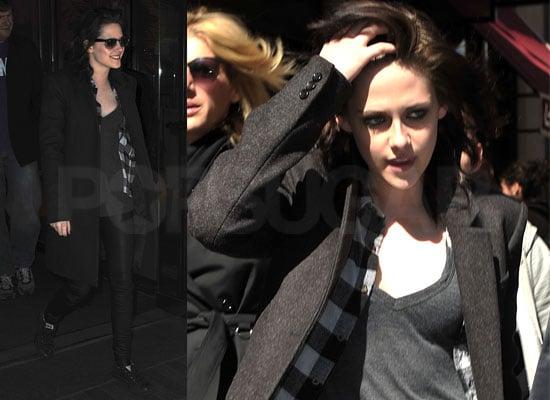 Photos of Kristen Stewart Smiling in New York
