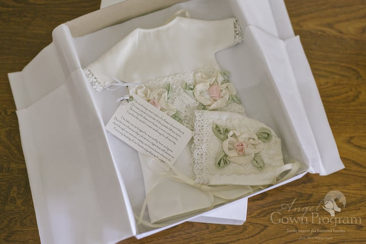 The small gowns are intricate and beautifully crafted for Donate older wedding dress