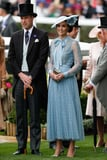 The Sheer Details on Kate Middleton's Dress Are Enough to Make the Queen Blush