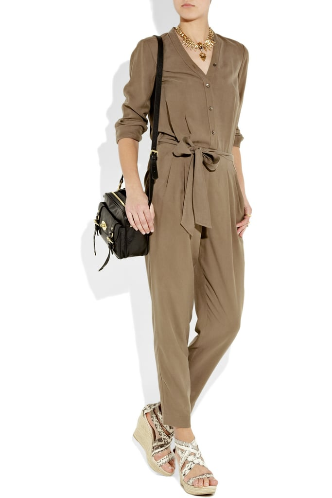 An effortless slouchy shape.  DKNY  Belted Jumpsuit ($207, originally $295)