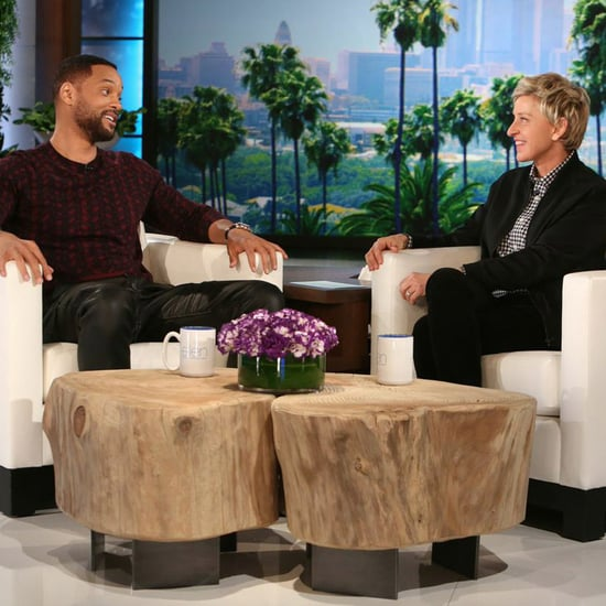 Will Smith Enthusiastically Rapped the Fresh Prince Theme Song For Ellen