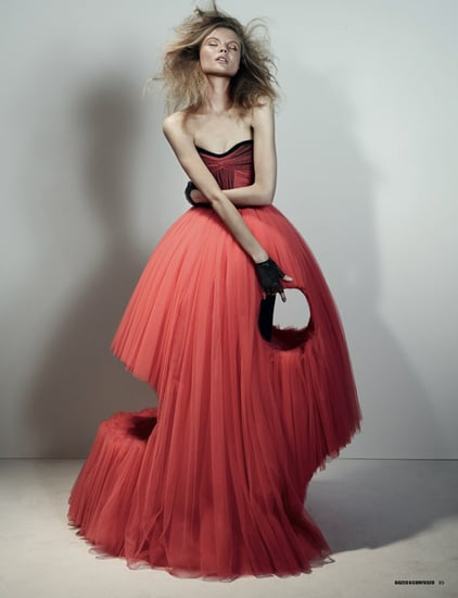 Magdalena Frackowiak Wearing Viktor & Rolf For Dazed & Confused's February 2010 Issue