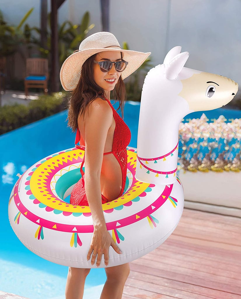 Your Summer Needs This Colourful Party Llama Pool Float