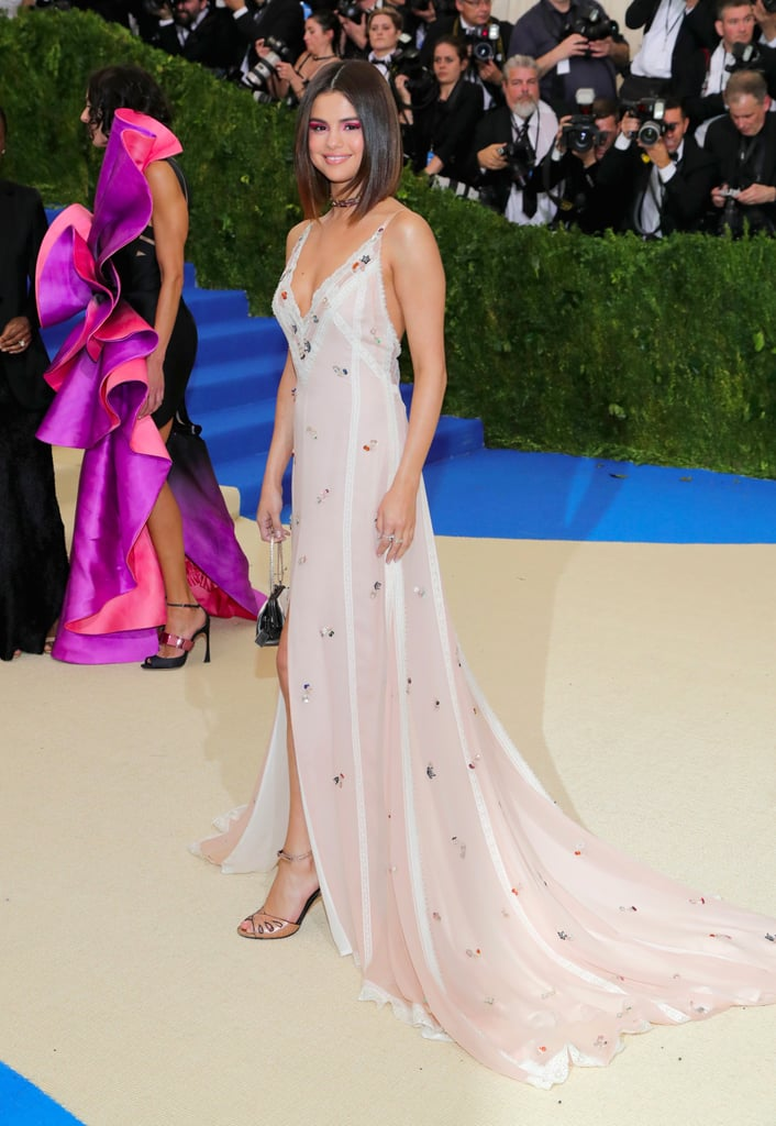 Selena Gomez Is Wearing the Sexy Slip of Your '90s Dreams at the Met
