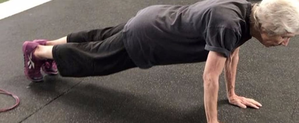 """This 77-Year-Old """"Fighter"""" and CrossFitter Makes a Perfect Push-Up Look Easy"""