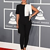 Who can forget the black-and-white Osman Yousefzada jumpsuit Beyoncé wore to the 2013 Grammys? It was fashion-forward and totally chic.
