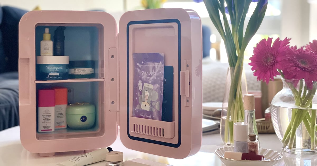 I Tried This Beauty Fridge From Target, and It's 100% Worth the Hype For Skin-Care Lovers.jpg