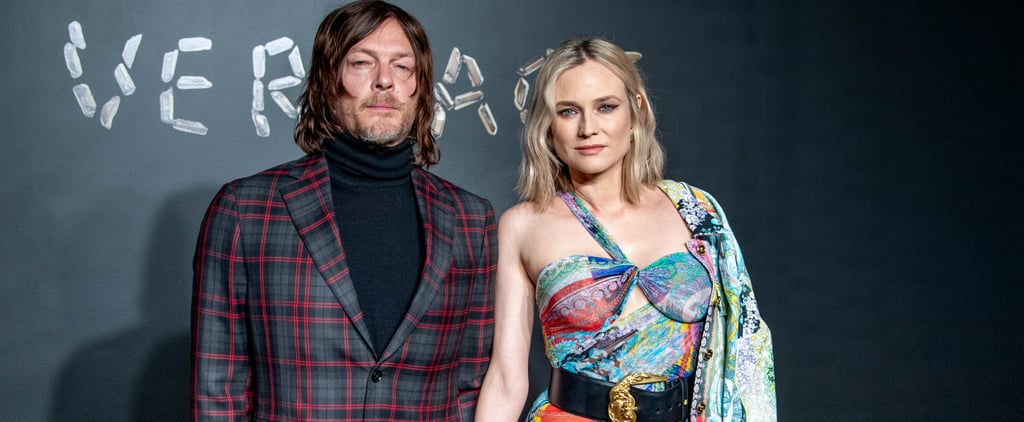 Diane Kruger and Norman Reedus at Versace Fashion Show 2018