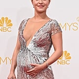 Pregnant Hayden Panettiere Pictures at 2014 Emmy Awards