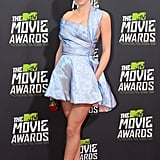 Claire Julien wore Spring 2013 Christian Dior at the MTV Movie Awards in Los Angeles.