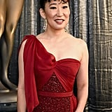 Sandra Oh Lipstick at SAG Awards 2019