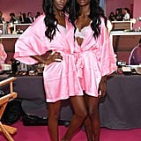 Pictured: Leomie Anderson and Zuri Tibby