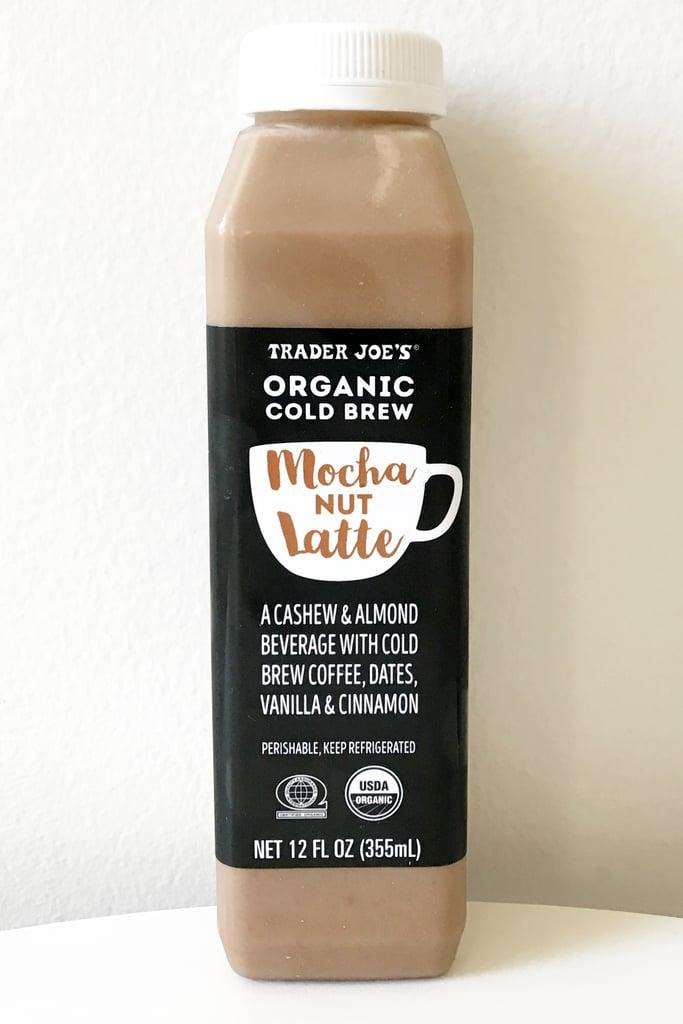 Organic Cold Brew Mocha Nut Latte ($4)