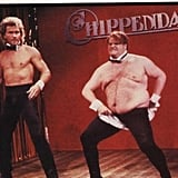 Chris Farley and Patrick Swayze made SNL history when they played Chippendales dancers during a hilarious skit in 1990.
